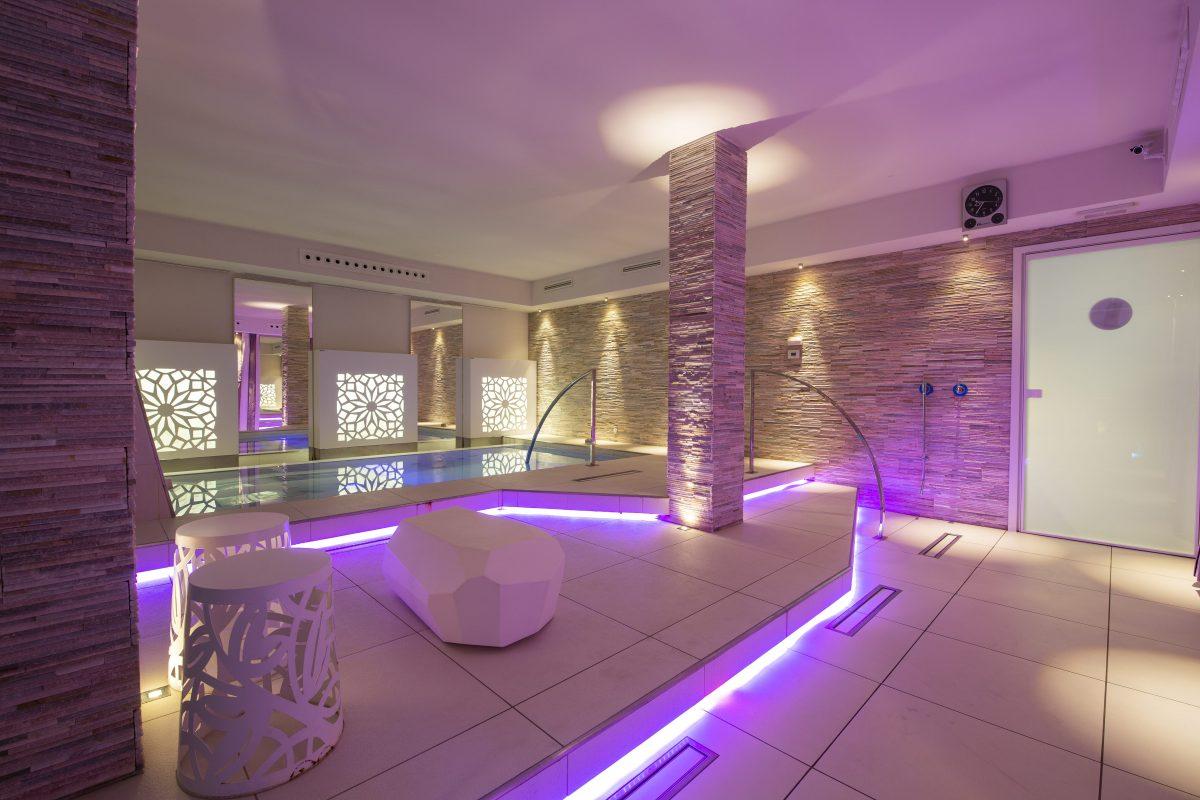 Il centro benessere La Cascade spa in provincia di Bergamo