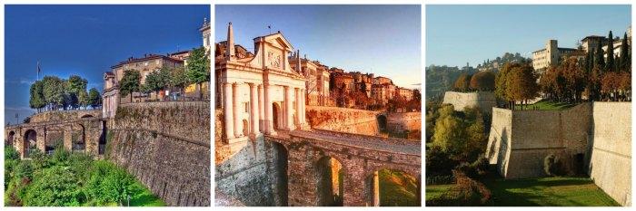 Mura venete città alta Bergamo - visitare Bergamo in un weekend