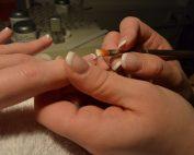 french manicure benessere mani spa la cascade