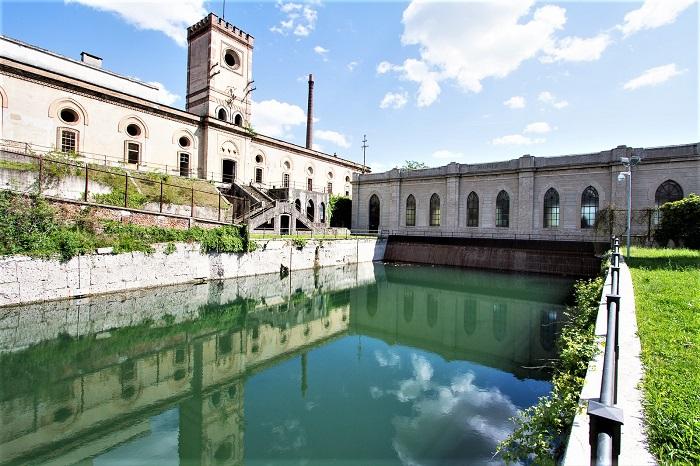 La centrale idroelettrica di Crespi d'Adda