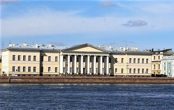 Giacomo Quarenghi - l'Accademia russa delle Scienze di San Pietroburgo