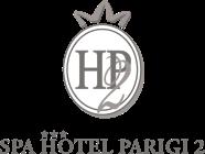 Spa Hotel Parigi 2,Hotel a Dalmine Bergamo con centro benessere e sale meeting. Vicino Leolandia,Autostrada A4,Orio al Serio aeroporto di Bergamo,famiglie che visitano la provincia di Bergamo Logo