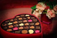 San Valentino a Bergamo cuore di cioccolato