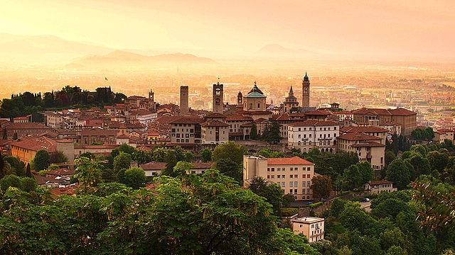 Il borgo di Bergamo Alta