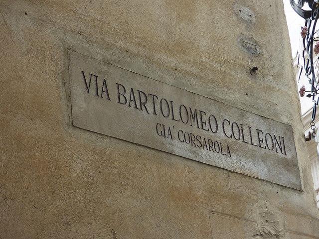 Bergamo in mezza giornata - Via Corsarola