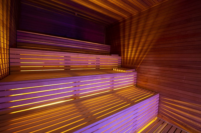 benefici sauna modalità d'uso Spa Hotel Parigi 2